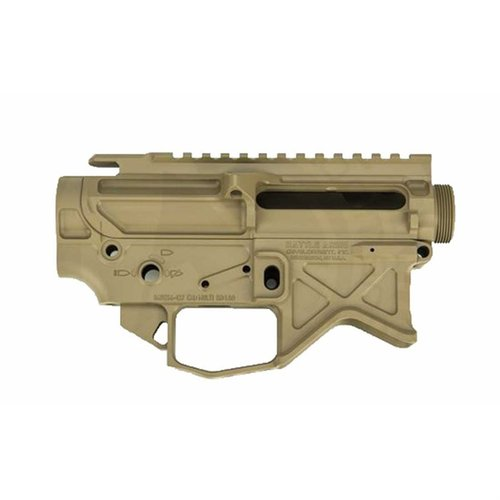 BAD556-LW Lightweight Billet 7075-T6 Receiver Set FDE