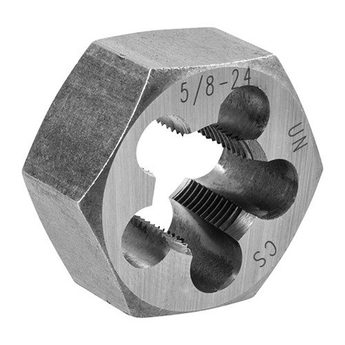 5/8-24 CARBON STEEL HEX DIE
