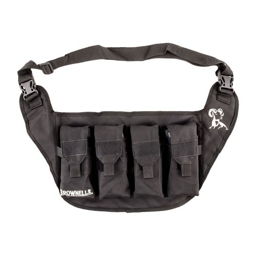 Deluxe Mag Pouch-Black
