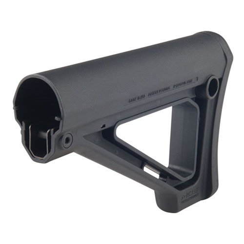 AR-15 MOE Stock Fixed Mil-Spec BLK