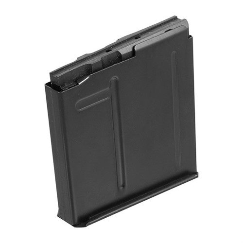 Long Action AICS Magazine .338 Lapua 5rd Steel Black