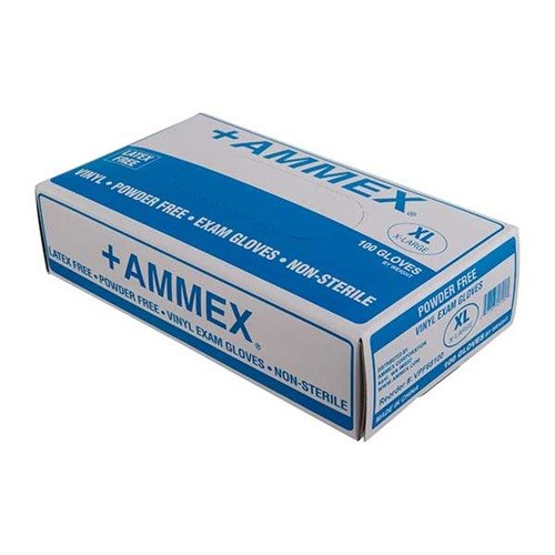 Vinyl Exam Gloves-Large-100 per box