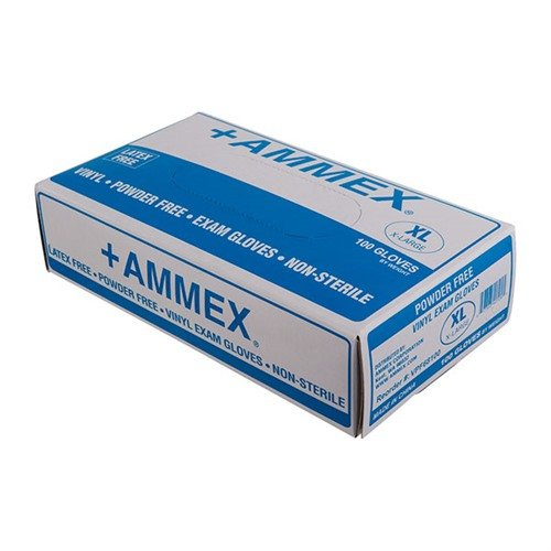 Vinyl Exam Gloves-X-Large-100 per box