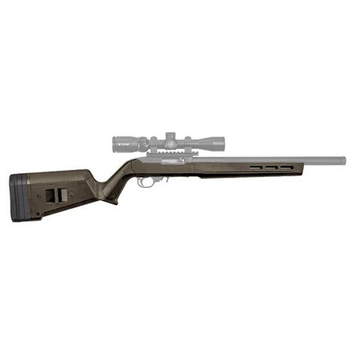 Ruger 10/22 Hunter X-22 Stock Adj Polymer O.D. Green