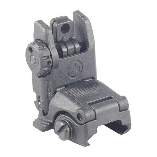 AR-15 Flip-Up MBUS Gen 2 Tactical Rear Sight Black