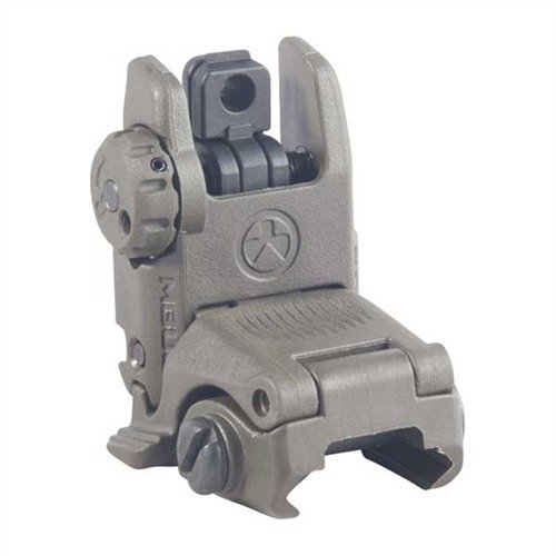 AR-15 Flip-Up MBUS Gen 2 Tactical Rear Sight O.D. Green