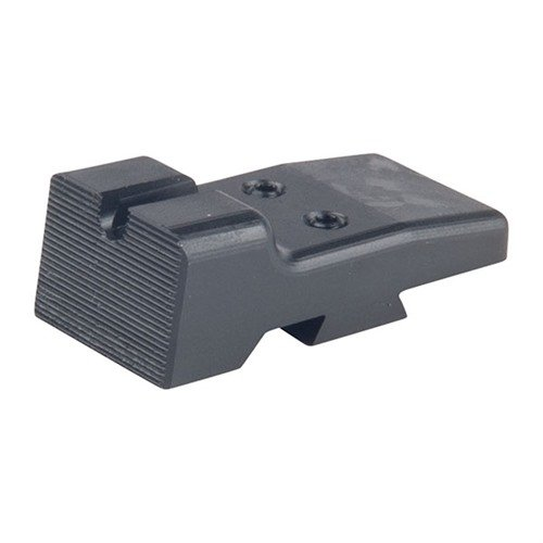 LPA Cut U-Notch Rear Sight, Black
