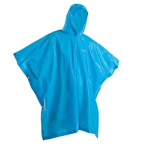 Youth Eva Rain Poncho, Blue