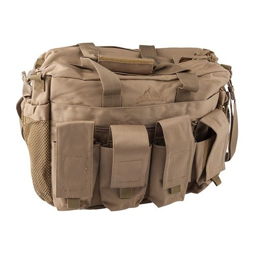Red Rock Outdoors Range Bag-Coyote