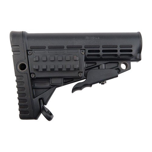 AR-15 Stock Collapsible Commercial BLK