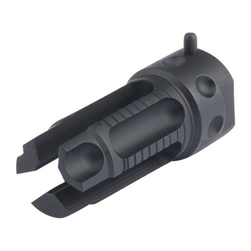 QDC Flash Suppressor Kit 22 Cal 1/2-28 Steel Black