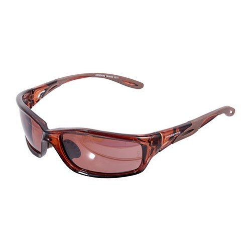 Brown Polarized Mach 1 Shooting Glasses Brown