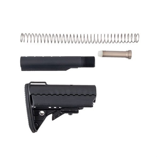 AR-15 IMOD Stock Assy Collapsible Mil-Spec BLK