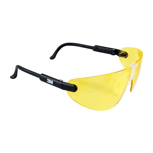 Amber Professional Shooting Glasses Black