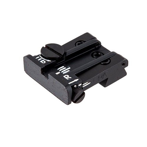 Colt 70/80/90 Black Serrated Adjustable Rear Sight