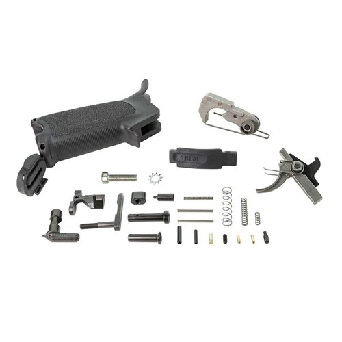 BCMGUNFIGHTER AR-15 Enhanced Lower Parts Kit, BLK