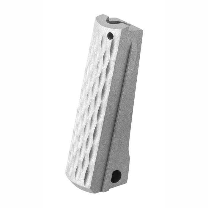 FUSION FIREARMS 1911 Gov Mainspring Housing Chainlink Gray Matte ...
