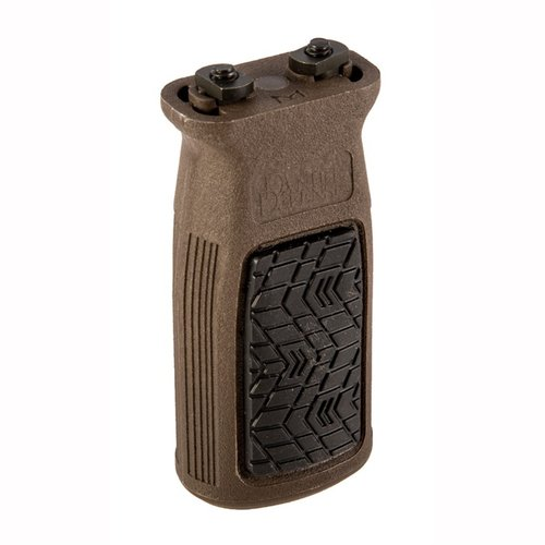 M-LOK Vertical Grip Polymer Brown