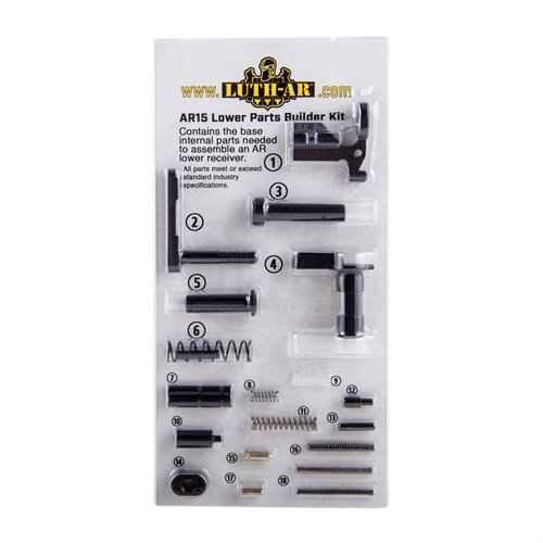AR-15 Builder Kit, Less Fire Control Group & Grip Parts