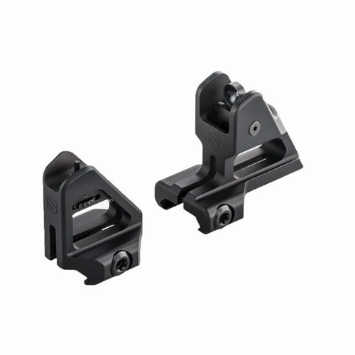 AR-15 PEAK Fixed Iron Sight Set Black