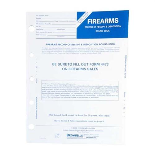 Brownells Firearms Record Book 10 Pack Brownells Deutschland
