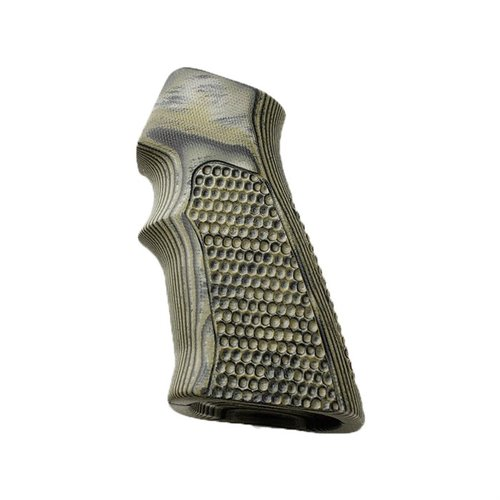 AR-15 G-Mascus G10 Grip Green Mini Piranha