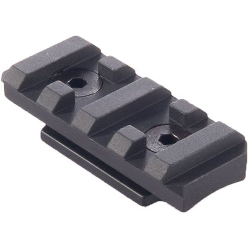 Direct Thread Modular Rail Picatinny Aluminum Black 2""