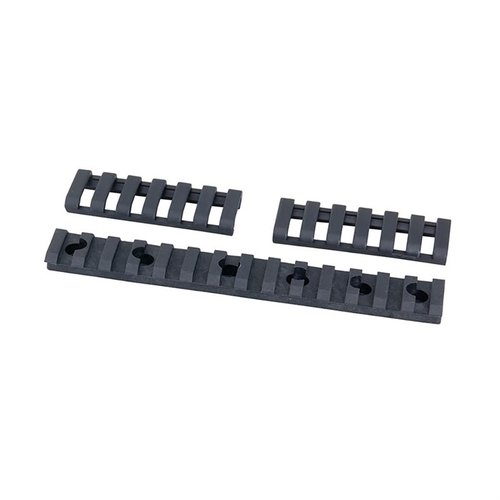 Direct Thread Universal Rail Picatinny Polymer Black 5.62""