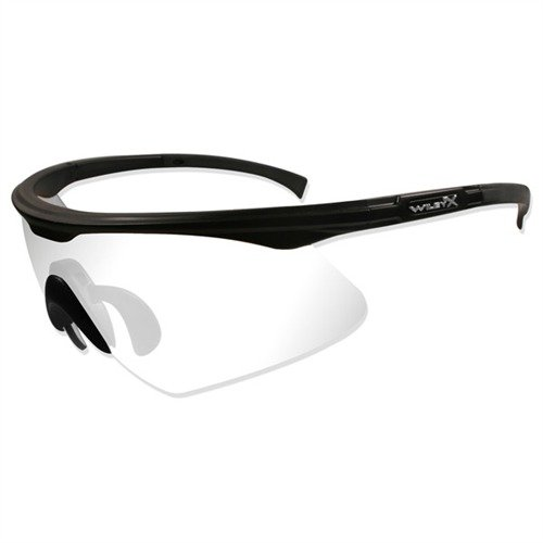 Clear XPT-1 Ballistic Shooting Glasses Black