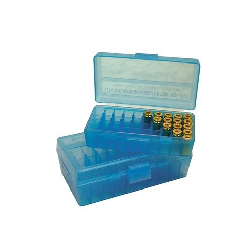 Ammo Box Pistol Blue 380-9mm 50
