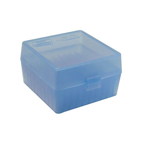 Ammo Boxes Rifle Blue 17 Remington - 6x47 100