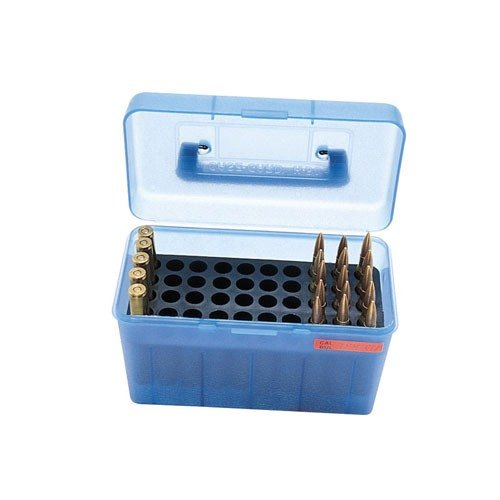 Ammo Boxes Rifle Blue 17 Remington - 300 Whisper 50