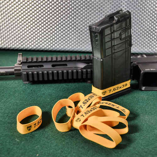 SPL MAG MARKER BANDS, 7.62X39 YELLOW