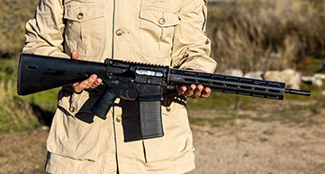 Prototype WWSD Rifle
